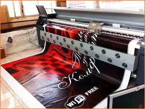 Широкоформатный принтер для печати большого баннера