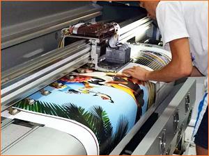 Проверка печати рекламы на принтере