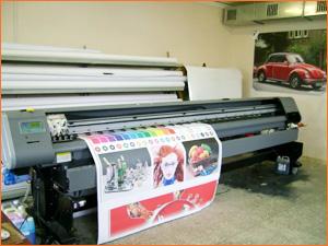 Широкоформатный принтер для печати баннера